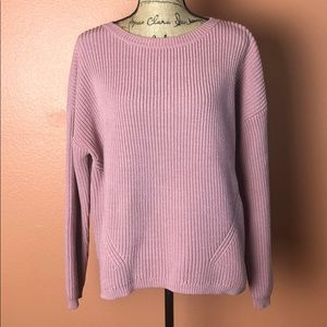 Ann Taylor Textured Pullover Sweater
